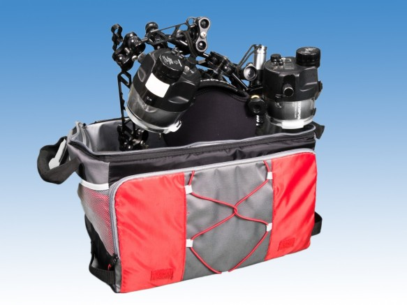 Underwater Camera, Housing, Strobes and Cooler