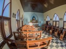 Alto Vista Chapel, Noord, Aruba, © 2016 Bob Hahn, Olympus OM-D OLYMPUS 8mm Lens at 8 mm, ISO: ISO 200 Exposure: 1/1000@f/9